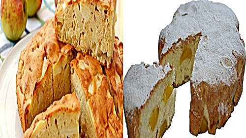 Шарлотка - пошаговый кулинарный рецепт с фотками
