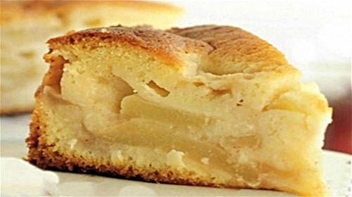 Кулинарный рецепт: Шарлотка с яблоками в духовке